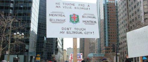 Ne touche pas Montréal Don't touch